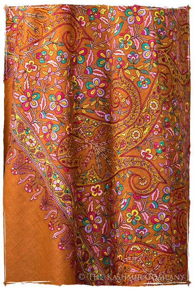 Sunset at Taj - Grand Pashmina Shawl