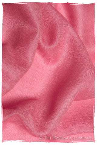 Wild Orchid Pink Cashmere Scarf