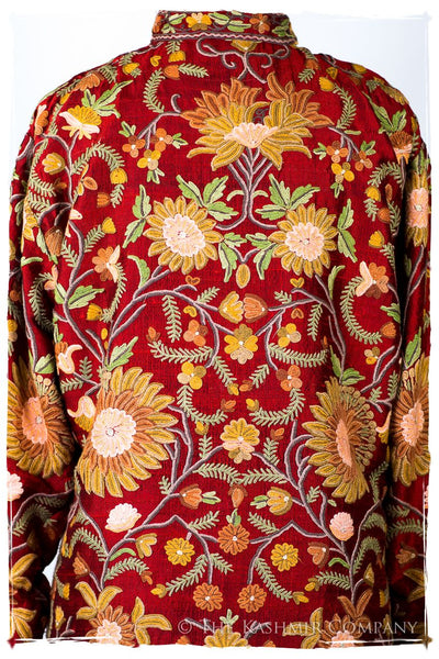 Française Palais Secret Garden Silk Jacket