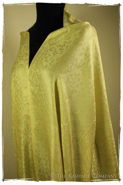 Champagne Celebration Silk Scarf / Shawl