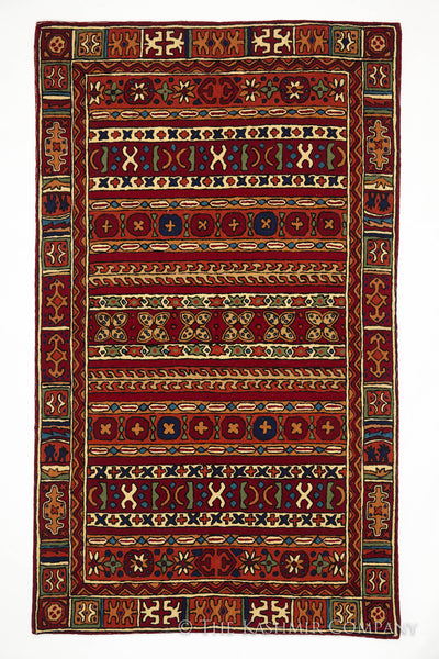 The Merveilleux Rouge Rug