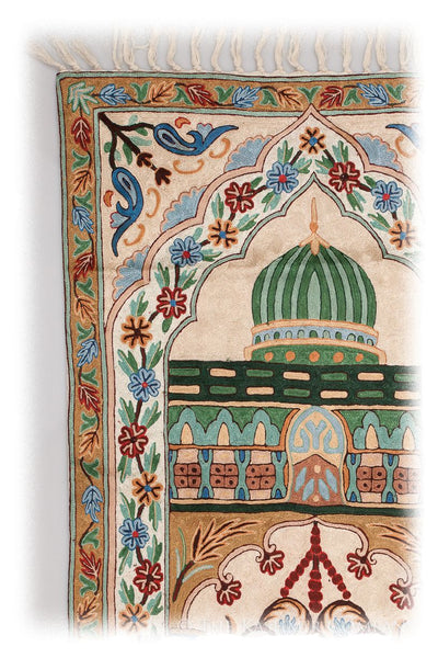 Khusro Arye Meditation Prayer Rug