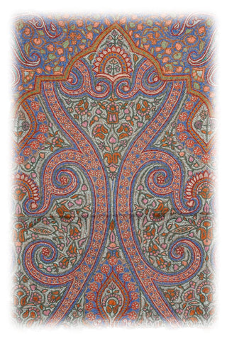 The Grand Embroidered Meditation Prayer Rug Collection