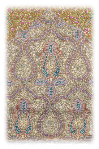 Shakur Janamaz Meditation Prayer Rug