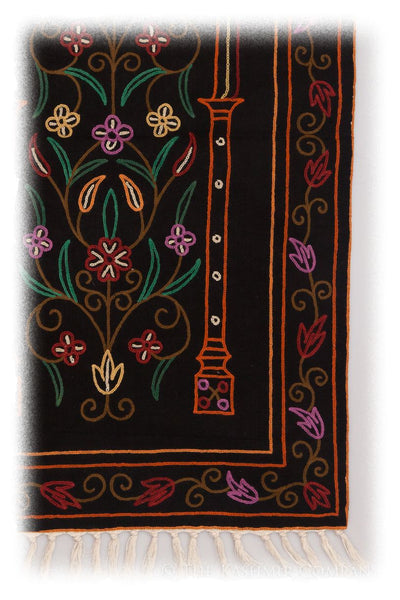 Kala Patthar Arye Prayer Rug / Wall Hanging