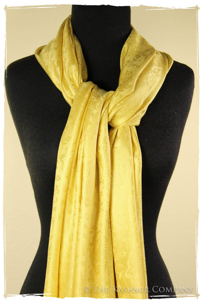 The Evening Candlelight Silk Scarf / Shawl