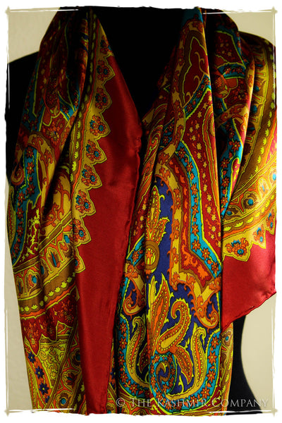 The Gypsy Silk Scarf