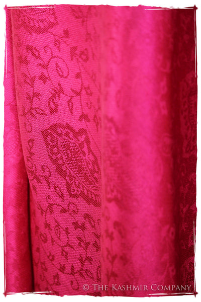 The Pretty in Pink - Rose Silk Scarf