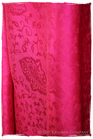The Pretty in Pink Silk Scarf / Shawl
