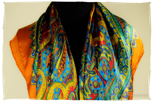 The Love Child Silk Scarf