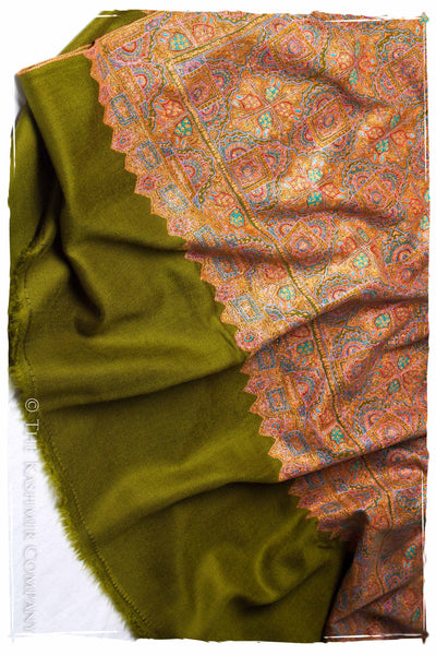 The Return to Timelessness - Grand Jamawar Pashmina Shawl
