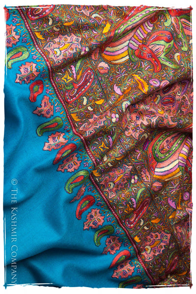 The Helen of Troy - Grand Jamawar Pashmina Shawl