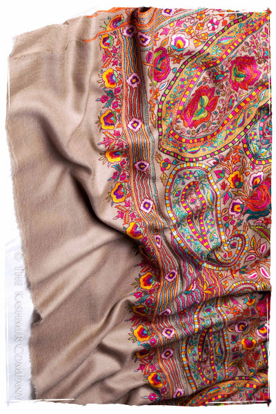 The Socialite - Grand Jamawar Pashmina Shawl