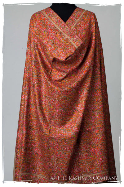 The Kashmir is Forever - Grand Jamawar Pashmina Shawl