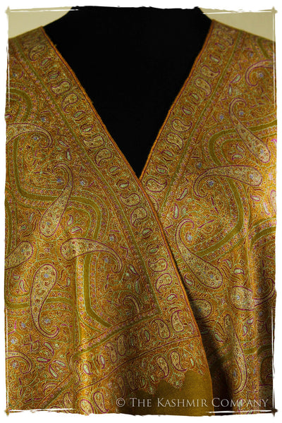 The Guinevere's Jade - Grand Jamawar Pashmina Shawl