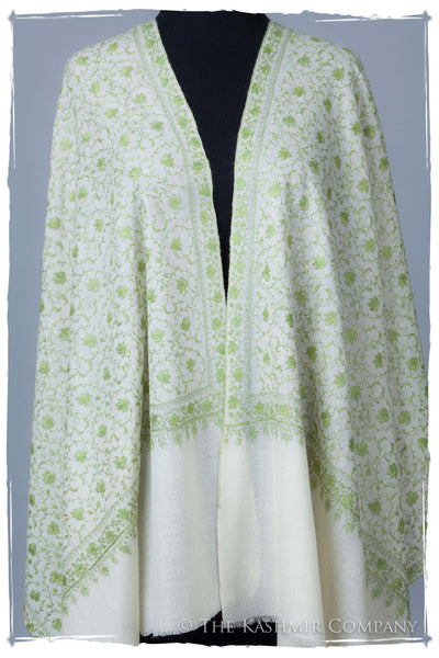Ivy Maple Ivory L'amour Soft Cashmere Shawl