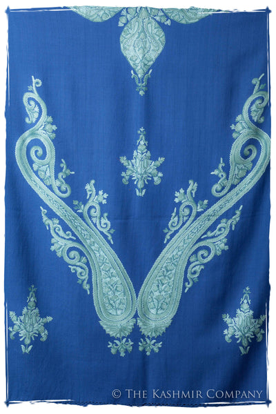 Regal Paisley Riviera Bleu Shawl