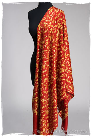 Haute Rouge Gold Secret Garden Shawl