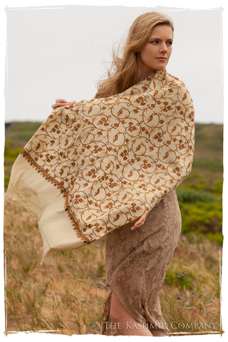 Cairière Gold Secret Garden Shawl