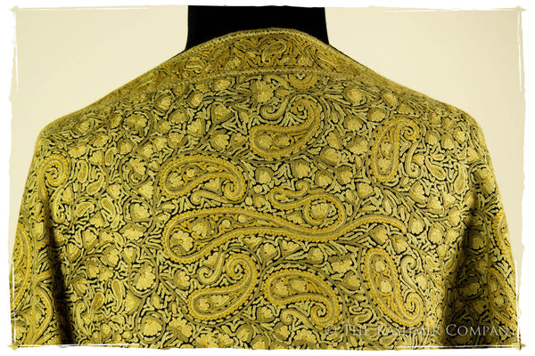 Field of Aspen Gold Paisley Antiquaires Shawl