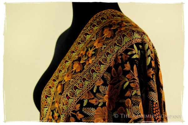 The Fields of Fall Shawl
