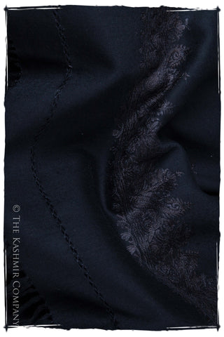 Caviar Noir Frontière Paisley Gift Shawl