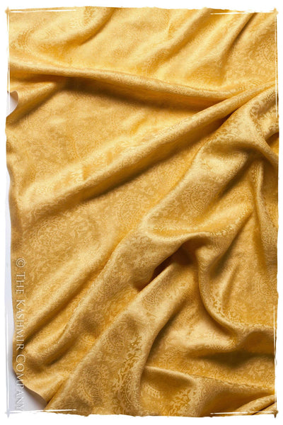 Sent From Above Gold Silk Shawl/Scarf