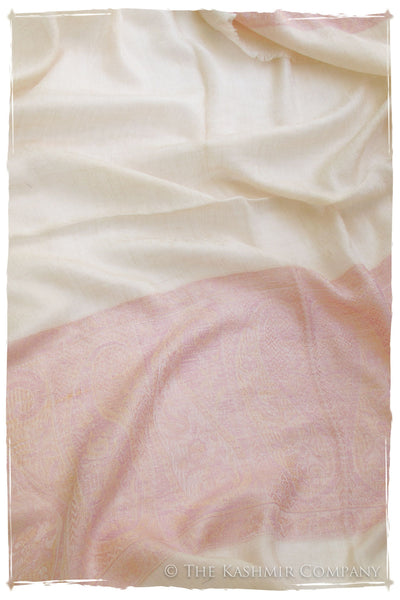 The Glisten & Blush Cashmere Scarf