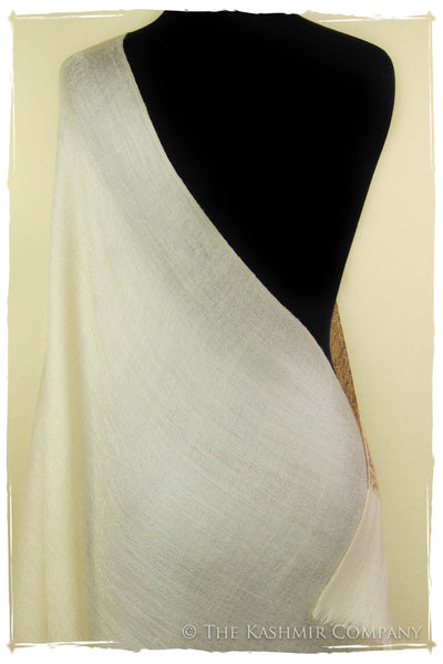 The Ivory Fall Cashmere Scarf
