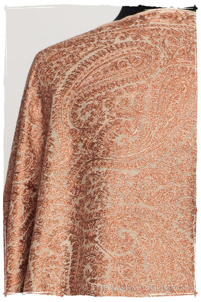 The Célébration Fabuleuse Copper Shawl