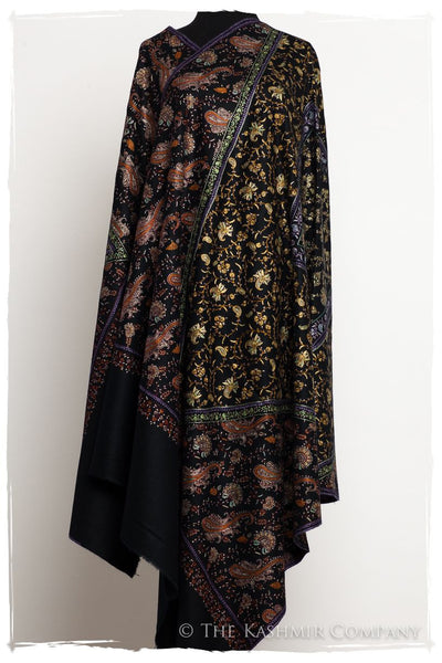 The Bon Voyage - Paisley Grand Pashmina Shawl