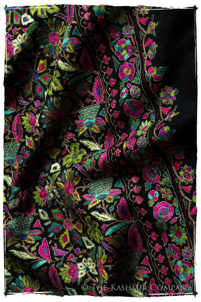 The Rare Orchid - Grand Jamawar Pashmina Shawl