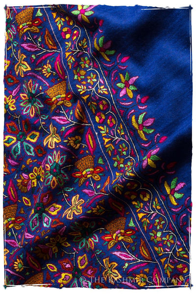 The Gauguin Shawl - Grand Jamawar Pashmina Shawl