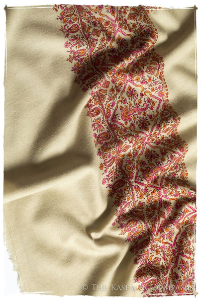 La Orange et Rose - Grand Pashmina Shawl
