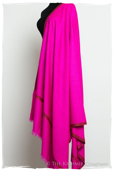 Feeling Rose Grand Pashmina Shawl