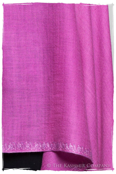 Bourgeon de Rose Frontière L'amour Soft Cashmere Scarf/Shawl
