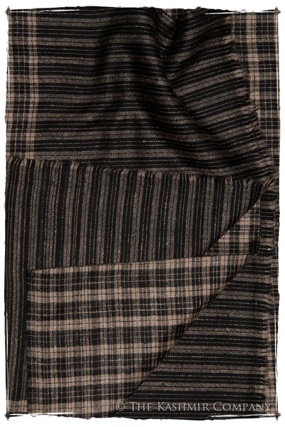 The Black Watch - Mens Handloom Pashmina Shawl