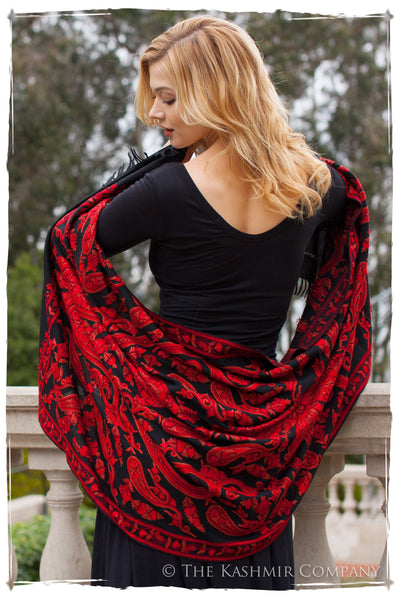 Rococo Rouge Palais Antiquaires Shawl
