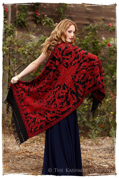 Rococo Rouge Antiquaires Shawl