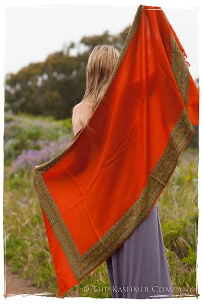 Trois Frontière Emberglow Mascarade Shawl