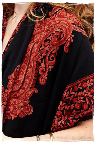 Sequoia Frontiere Royale Paisly Shawl