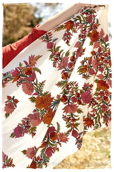 Jardin de Paris d'orchidee Shawl