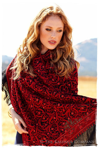 Le Chateau Sequoia Rouge Shawl