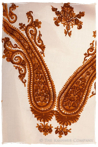 Copper d'Ivoire Paisley Shawl
