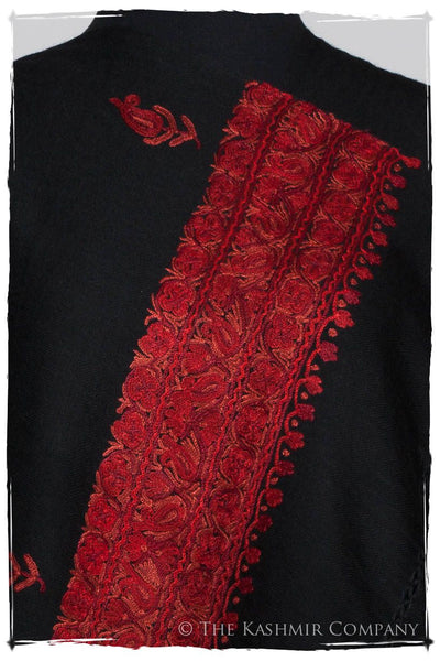 Rouge Ruby Trois Frontières Noir Gift Shawl