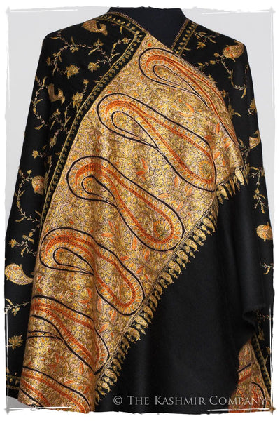 Bel Amour Isabelle Orient Paisley Shawl