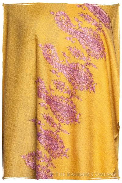 Frontière Narcissus Paisley L'amour Soft Cashmere Scarf/Shawl