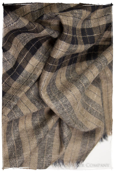 The Oxford - Handloom Pashmina Cashmere Scarf