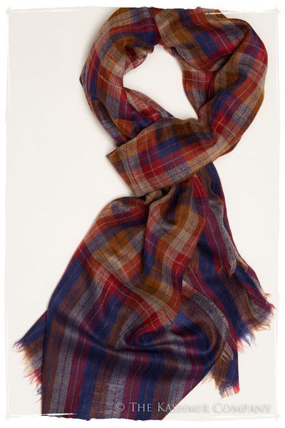 The Barnaby - Handloom Pashmina Cashmere Scarf