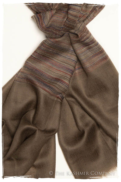The Henley - Handloom Pashmina Cashmere Scarf